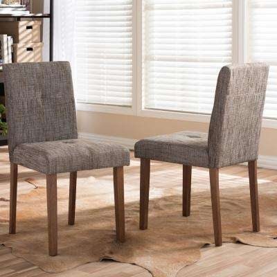 Multi Colored – Fabric – Dining Chairs – Kitchen & Dining Room For Fabric Dining Chairs (Image 19 of 25)
