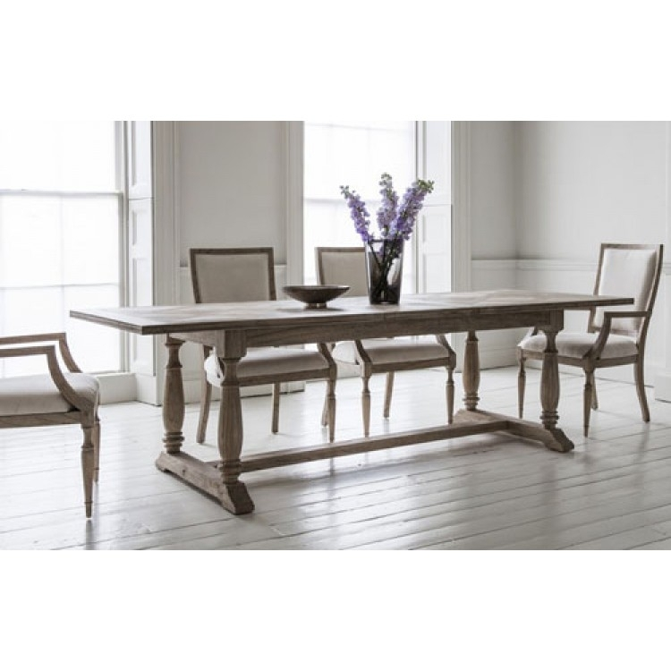 Mustique Dining Table | Frank Hudson & Gallery Direct For Norwood Rectangle Extension Dining Tables (Image 14 of 25)