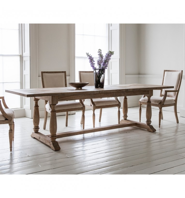 Mustique Extending Dining Table 250X100X75Cm | Gallery Direct Pertaining To Extending Dining Sets (View 22 of 25)