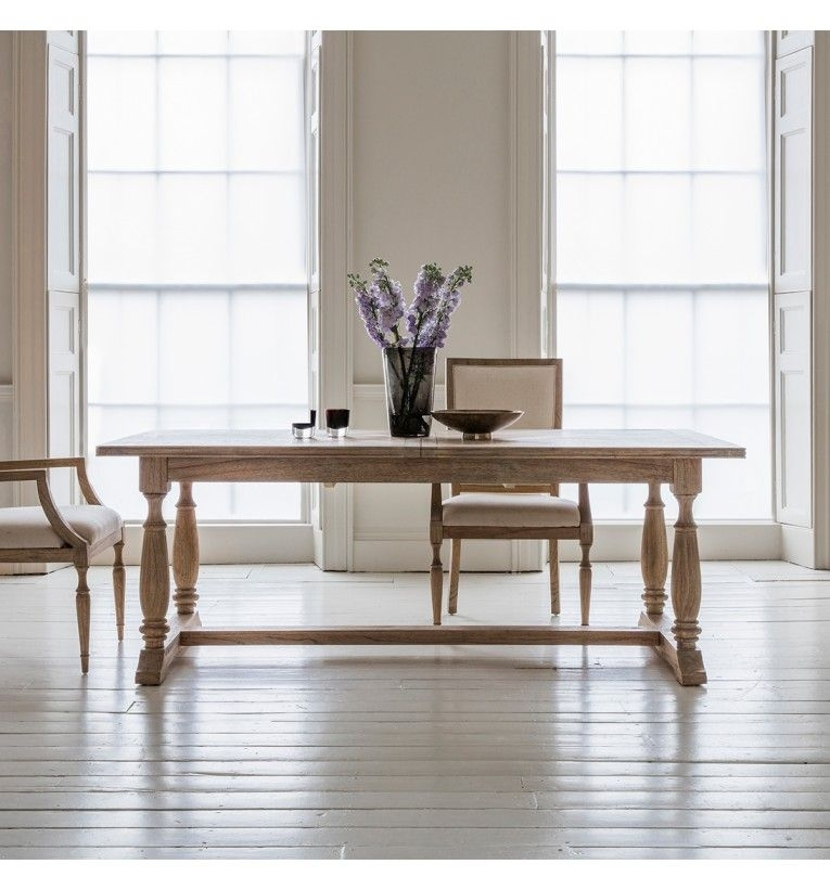 Mustique Extending Rectangular Dining Table With Extending Rectangular Dining Tables (Image 17 of 25)