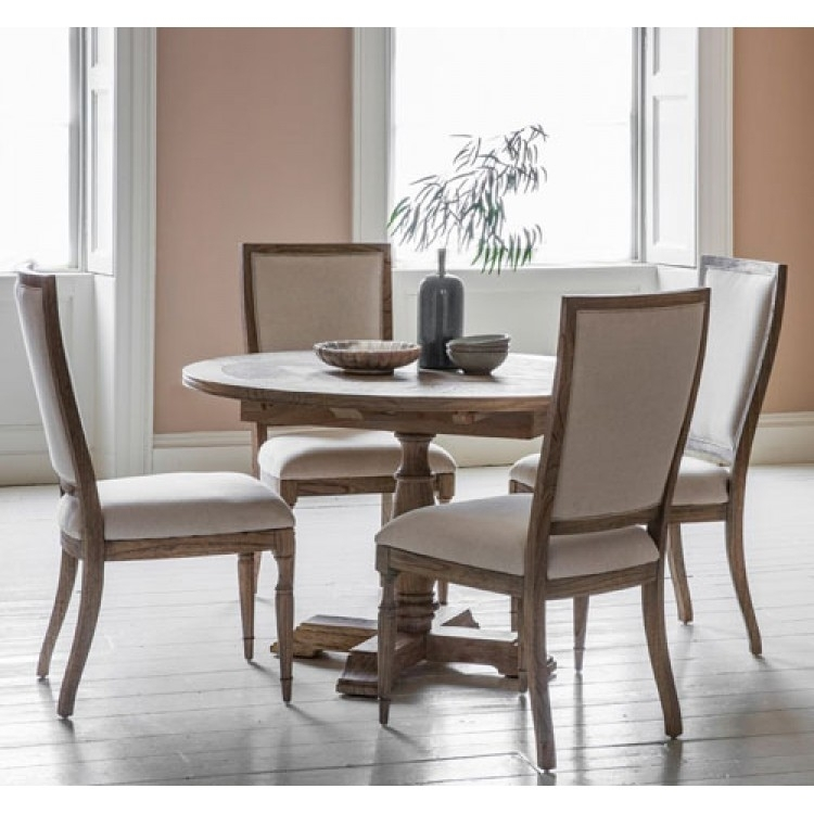 Mustique Round Dining Table | Frank Hudson & Gallery Direct With Hudson Dining Tables And Chairs (Image 24 of 25)