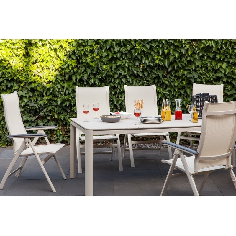Mwh Rocco Dining Table | Wayfair.co (View 7 of 25)