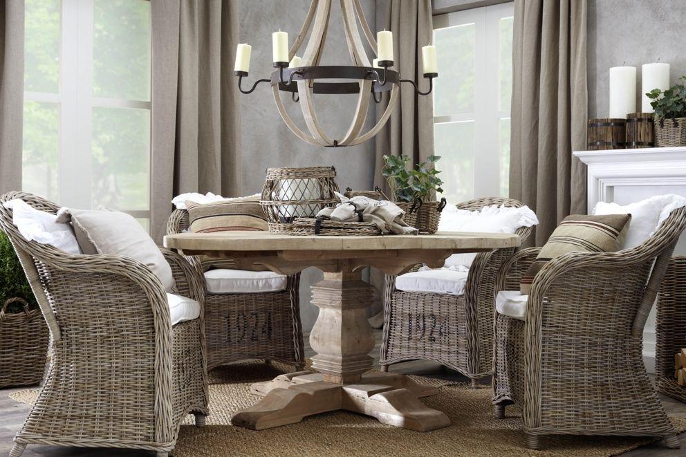 My Favorite Kubu Rattan Dining Chairs | Malibu Breakfast Nook Inside Rattan Dining Tables (Image 13 of 25)