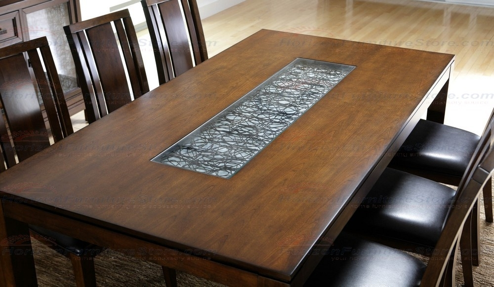 Najarian Furniture Bali 5 Piece Dining Set In Cognac – Crbaldsc Pertaining To Bali Dining Sets (View 9 of 25)