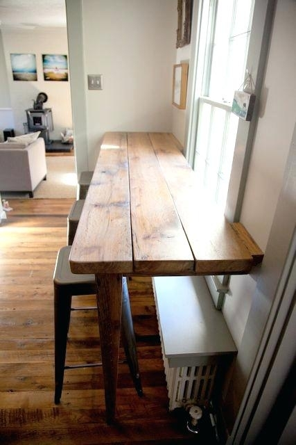 Narrow Dining Table Great Breakfast Area With 60Cm Wide Design Within Narrow Dining Tables (Image 13 of 25)
