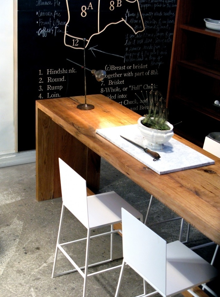 Narrow Dining Table- Useful And Classy - Darbylanefurniture inside Narrow Dining Tables