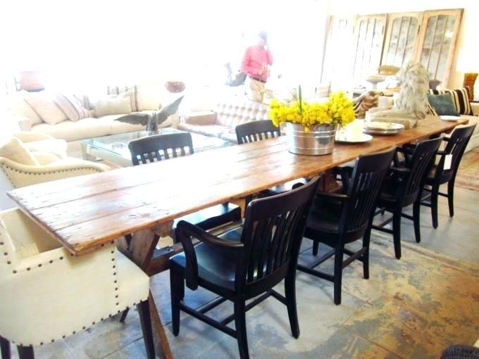 Narrow Dining Table With Bench – Businessofsport (View 24 of 25)