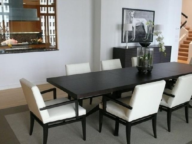 Narrow Dining Tables | Homesfeed pertaining to Narrow Dining Tables