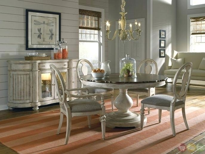 Nautical Dining Table Dining Room Tables Cozy Kitchen Table Round with regard to Coastal Dining Tables