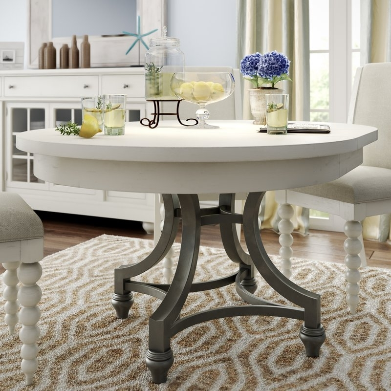 Necessity Of A Round Extendable Dining Table And Chairs – Home Decor Within Round Dining Tables (Image 17 of 25)