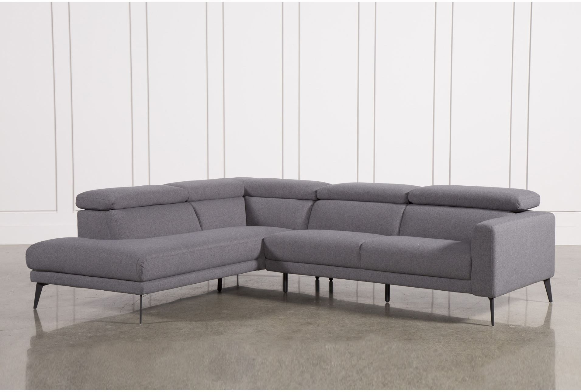 Neo Grey 2 Piece Sectional W/laf Chaise | Couches | Pinterest Inside Tatum Dark Grey 2 Piece Sectionals With Raf Chaise (Image 15 of 25)
