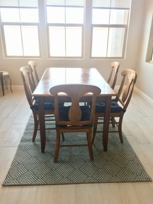 New And Used Dining Tables For Sale In Gilbert, Az - Offerup pertaining to Chandler Extension Dining Tables