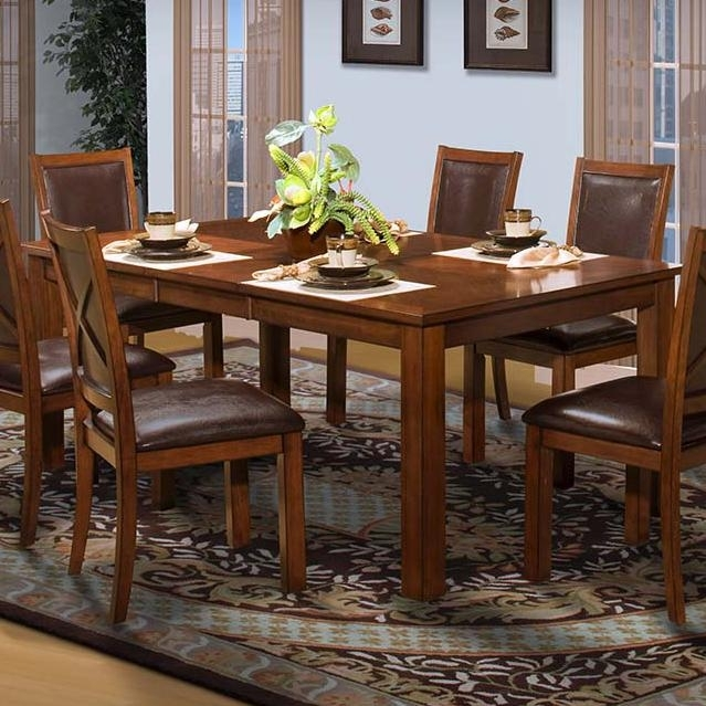 New Classic Aspen Standard Rectangle Dining Table | Boulevard Home throughout Aspen Dining Tables