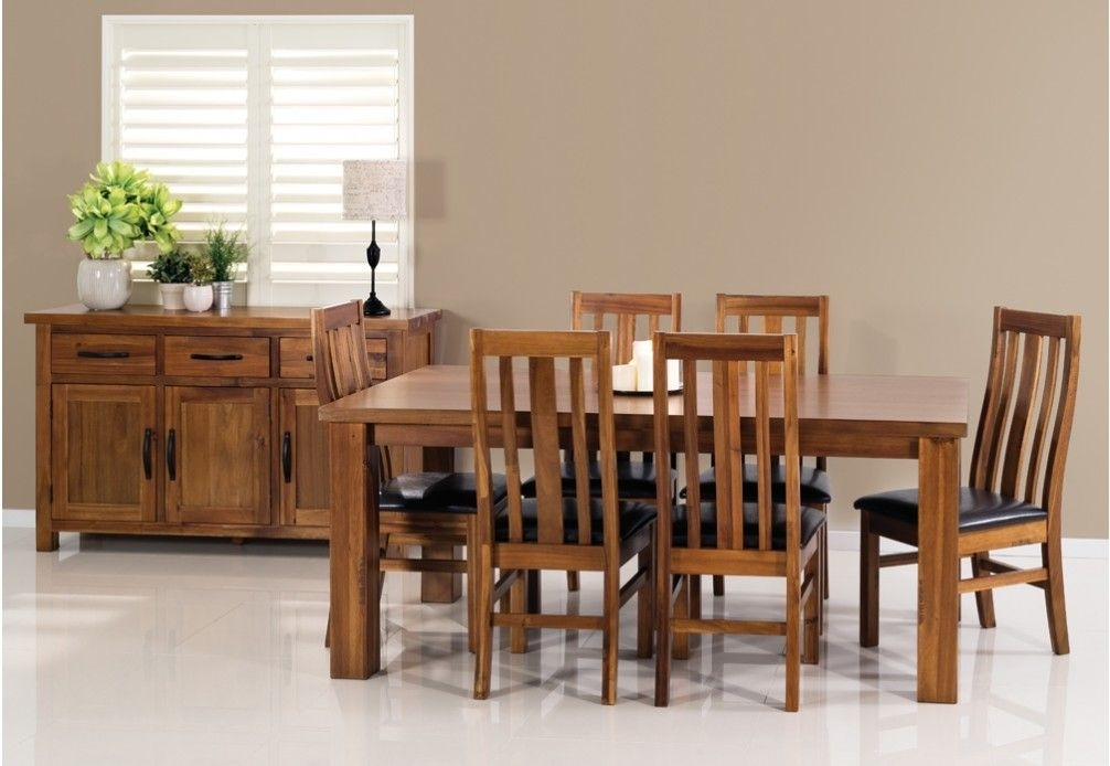 New England 7 Piece Dining Suite | Super Amart | Wishlist For 642 Inside White Dining Suites (Photo 19 of 25)