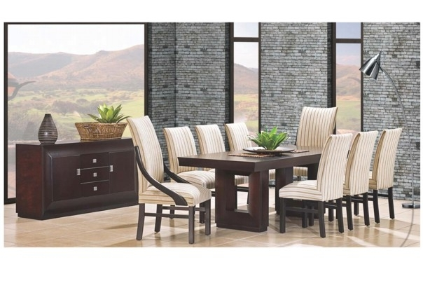New Home Furnishers » Dallas Diningroom Suite With Regard To Dining Room Suites (Image 21 of 25)