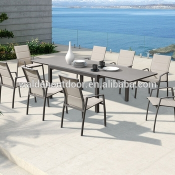 New Painted Extension Dining Table And Stackable Chairs Tempered Within Walden Extension Dining Tables (Image 13 of 25)