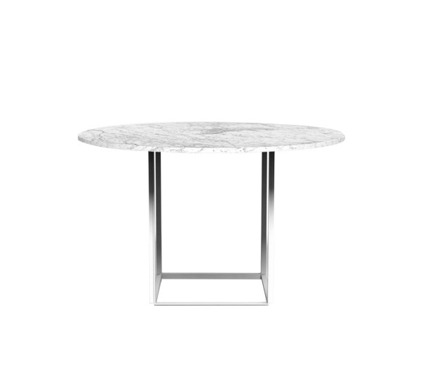 New Works Florence Dining Table Marble | Mohd Shop Pertaining To Florence Dining Tables (View 20 of 25)