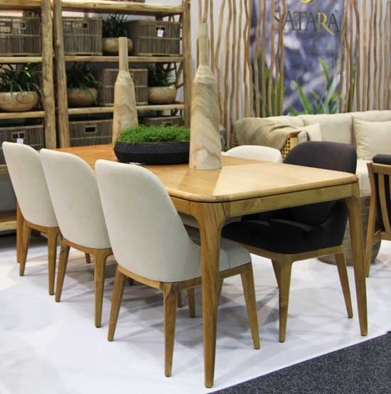New York Dining Table Indoor Furniture Teak Satara Australia In New York Dining Tables (Image 25 of 25)