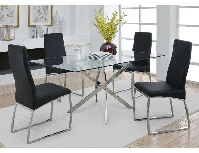 New York Modern Style Dining Table With New York Dining Tables (View 18 of 25)