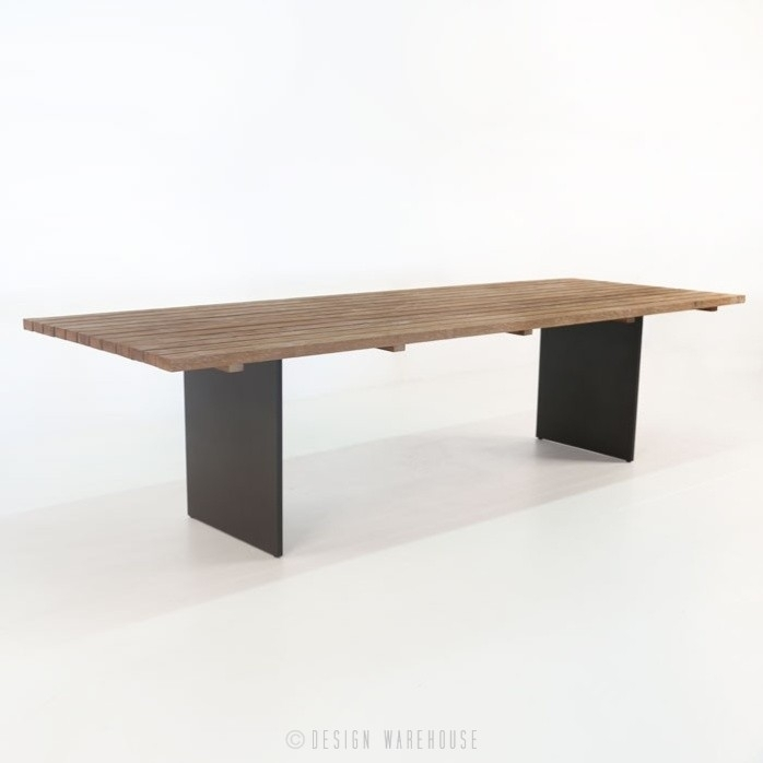 New York Reclaimed Teak Dining Tables | Design Warehouse Nz With Dining Tables New York (Photo 8 of 25)