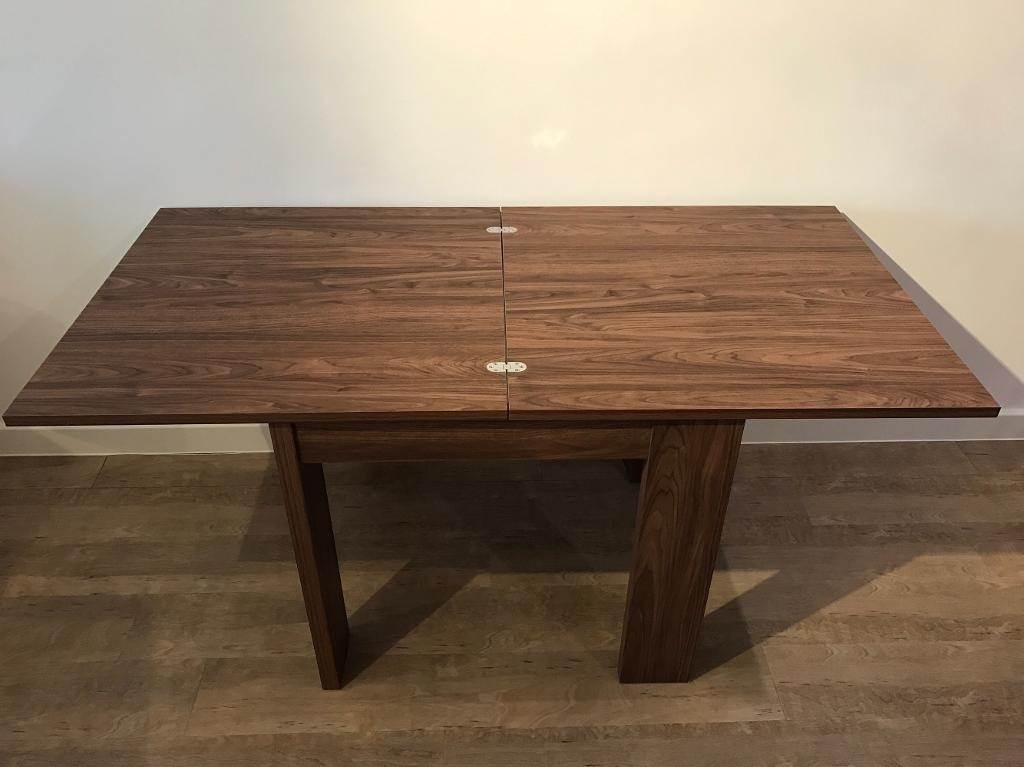 Next Home 'logan Square To Rectangle' Dining Table Rrp £225 | In Regarding Logan Dining Tables (Image 16 of 25)