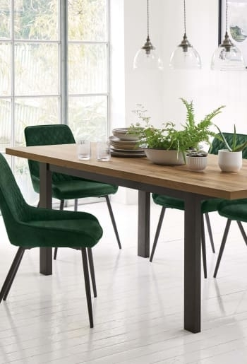 Next Hudson 6 - 8 Extending Dining Table - Brown | Out Of Stock intended for Next Hudson Dining Tables