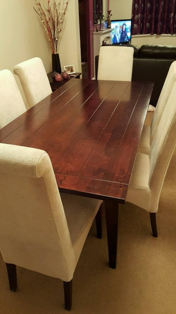 Next Toscana Dining Table | In Dover, Kent | Gumtree With Toscana Dining Tables (View 9 of 25)