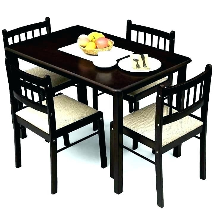 Nice 4 Chair Dining Table Set | Morrison6 With Regard To 4 Seat Dining Tables (Image 20 of 25)
