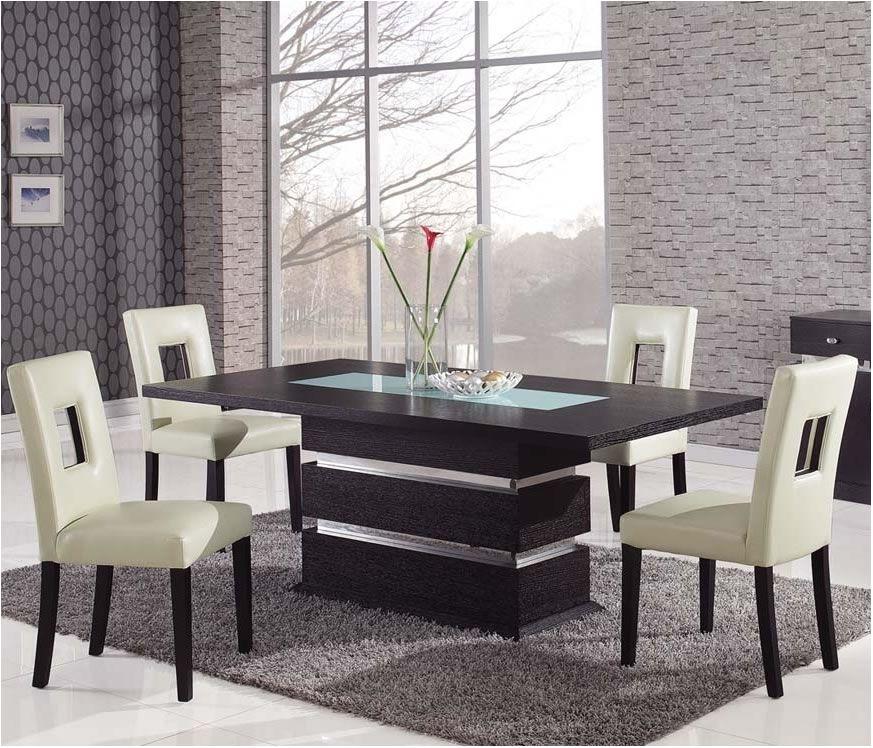 Nice Modern Dining Set | Morrison6 Intended For Modern Dining Sets (Image 24 of 25)
