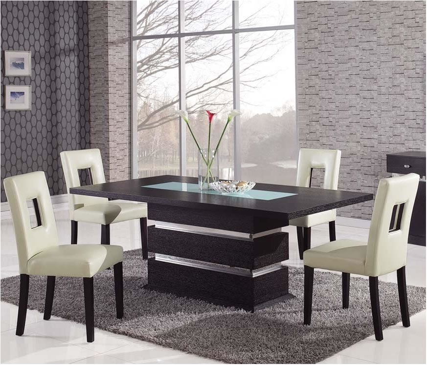 Nice Modern Dining Set | Morrison6 Intended For Modern Dining Sets (Photo 24 of 25)