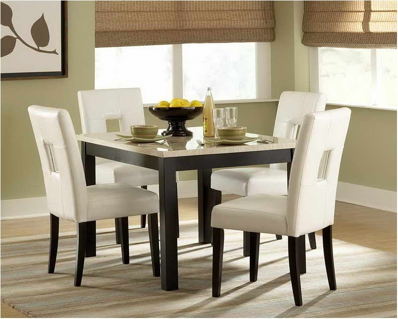 Nice Small Dining Table And Chairs | Morrison6 In Compact Dining Tables And Chairs (Image 15 of 25)