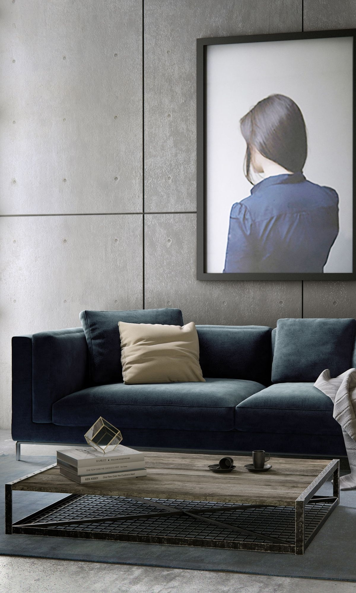 Nico Sofa | Rove Concepts Sandro Mid-Century Furniture | Living Room for Nico Grey Sectionals With Left Facing Storage Chaise