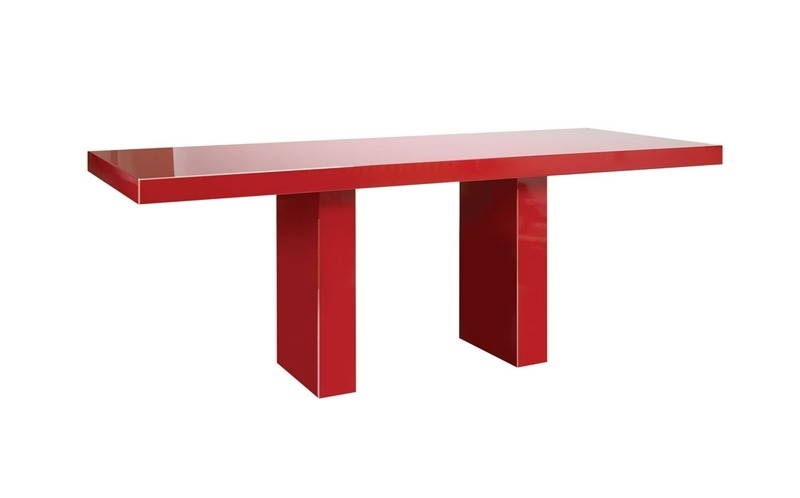 Nigeria Dining Table, Dining Table, Luxury Dining Table Regarding Red Gloss Dining Tables (View 9 of 25)