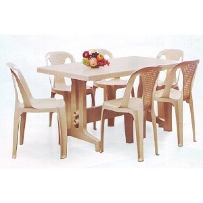 Nilkamal-Imperial-Dining-Table-Set-With-Chair-4002-Model intended for Imperial Dining Tables
