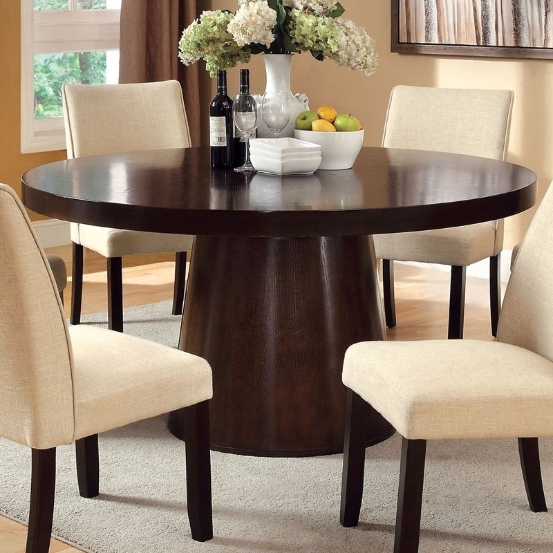 No Space In The Dining Room? Here Are Some Extendable Dining Tables Regarding 6 Person Round Dining Tables (Image 14 of 25)