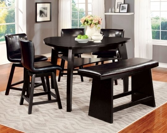 Noah 4 Pc Pub Dining Room Set | Dining Room Tables within Noah Dining Tables