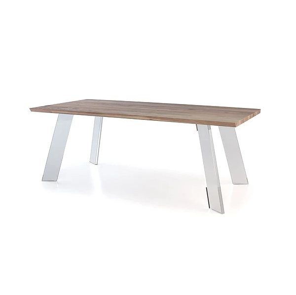 Noah Dining Table – Mikaza Meubles Modernes Montreal Modern With Regard To Noah Dining Tables (View 8 of 25)