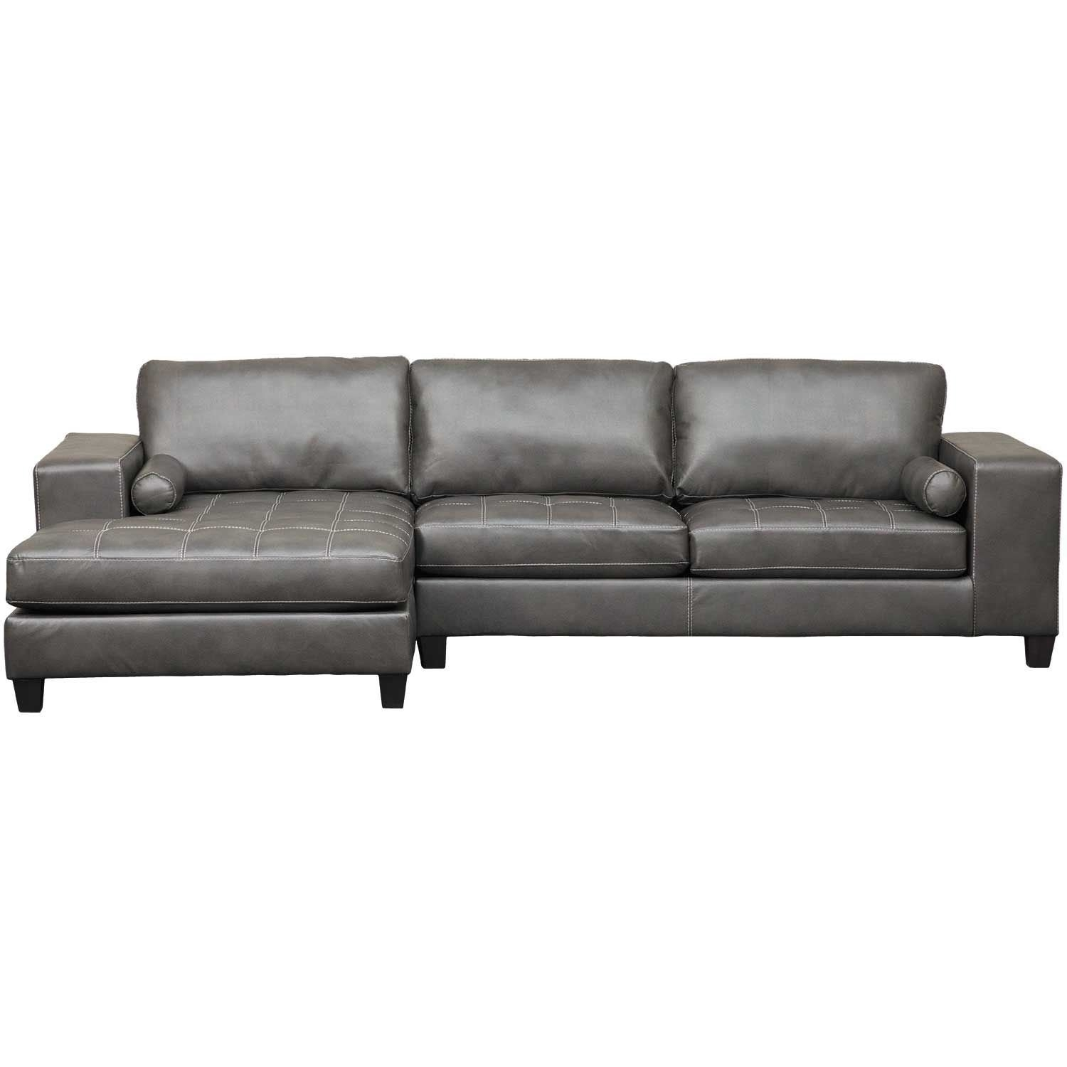 Nokomis 2 Piece Sectional With Laf Chaise | 8770116/8770167 | Ashley With Regard To Cosmos Grey 2 Piece Sectionals With Laf Chaise (Image 17 of 25)