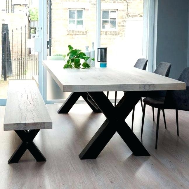 Non Wood Dining Tables Non Wood Dining Benches Luxury Furniture With Regard To Non Wood Dining Tables (Image 11 of 25)
