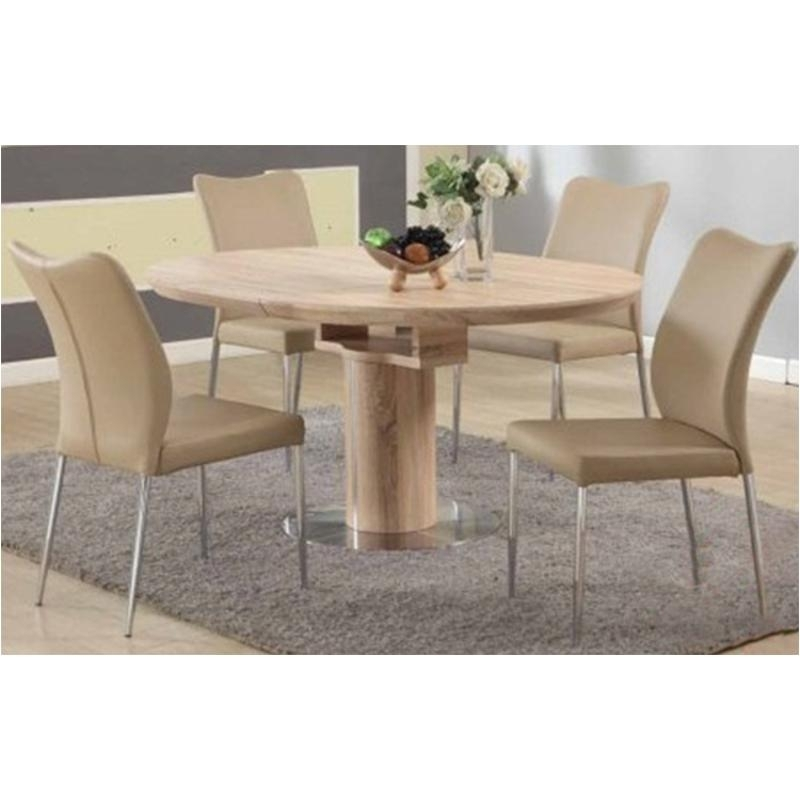 Nora-Dt-Oak-T Chintaly Imports Furniture Nora Nora Table - Oak with regard to Nora Dining Tables