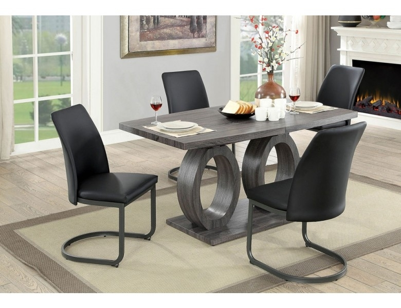 Nora Modern Style Dining Table Set inside Nora Dining Tables