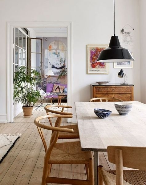 Nordic Dining Room | Home Sweet Home | Pinterest | Room Pertaining To Scandinavian Dining Tables And Chairs (View 6 of 25)