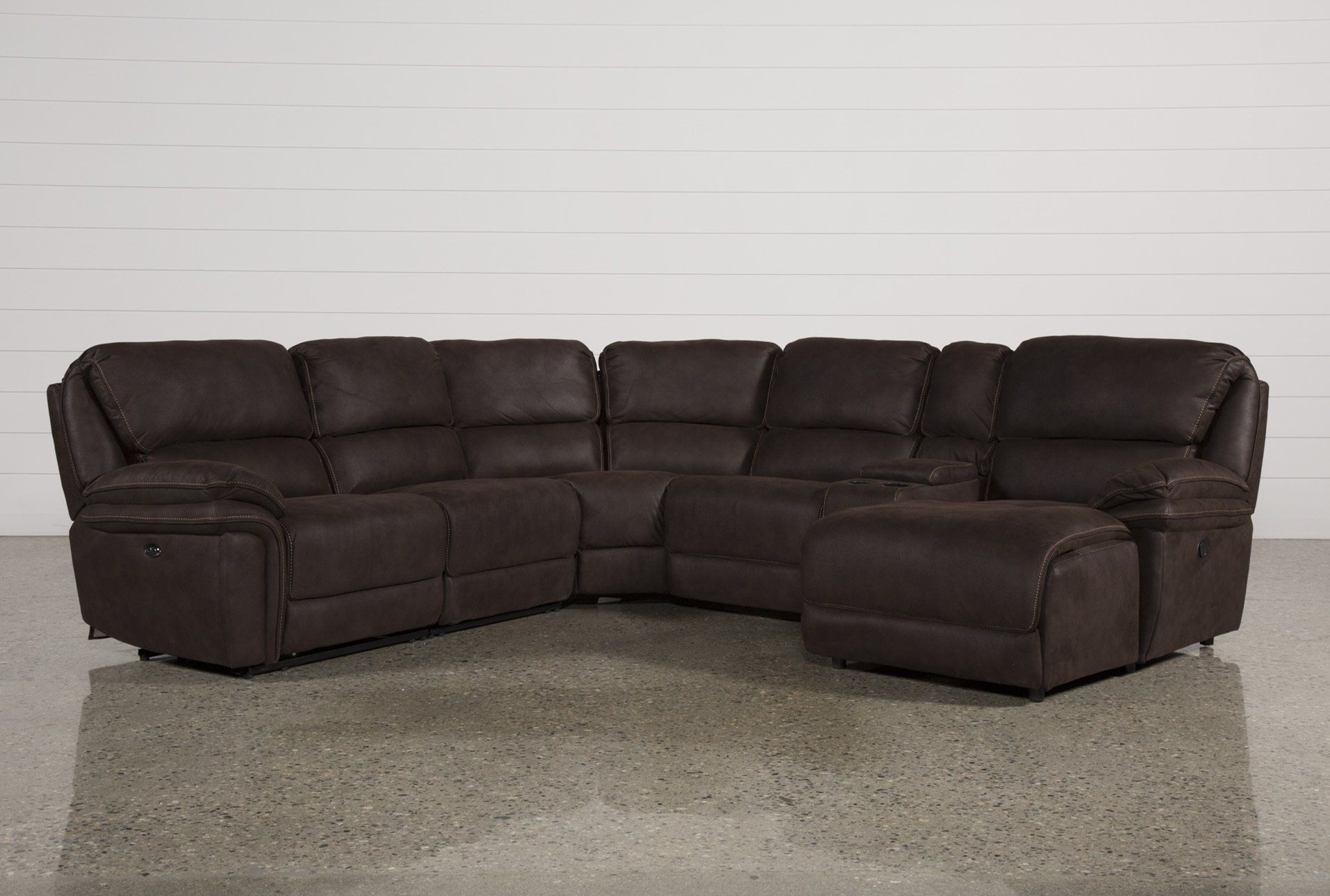 Norfolk Chocolate 6 Piece Sectional W/raf Chaise | Pinterest Pertaining To Norfolk Chocolate 6 Piece Sectionals (View 3 of 25)