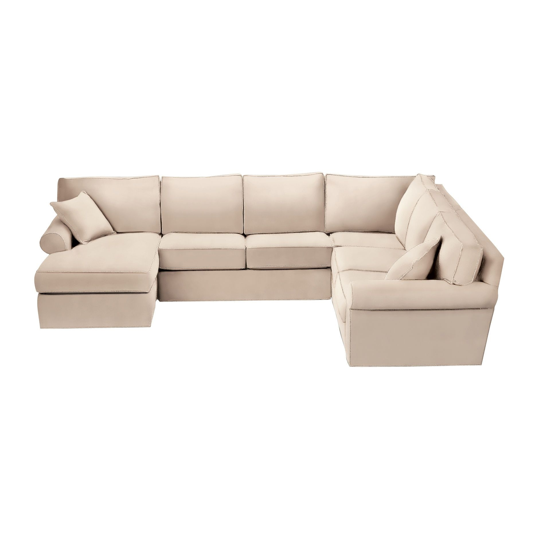 Norfolk Grey 3 Piece Sectional W/laf Chaise with regard to Norfolk Grey 3 Piece Sectionals With Laf Chaise