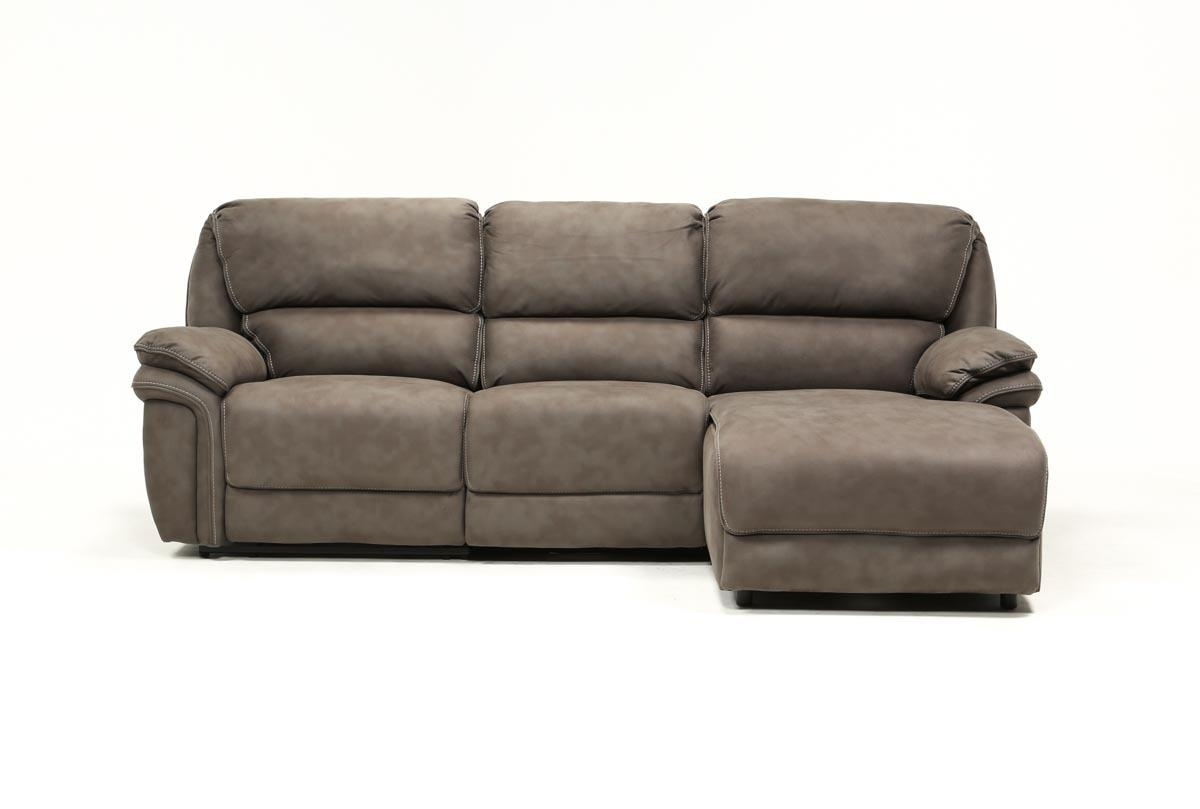 Norfolk Grey 3 Piece Sectional W/raf Chaise | Living Spaces Intended For Norfolk Grey 6 Piece Sectionals With Laf Chaise (Image 15 of 25)