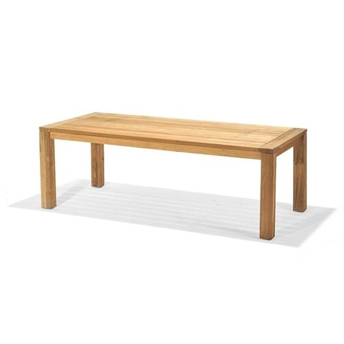 Northcape Teak Valencia 87 Inch Dining Table Regarding 87 Inch Dining Tables (Photo 20 of 25)