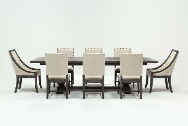 Norwood 9 Piece Rectangle Extension Dining Set | Living Spaces Inside Norwood 7 Piece Rectangle Extension Dining Sets (Image 17 of 25)