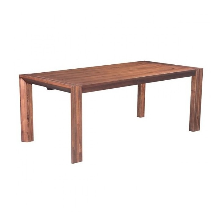 Norwood Extension Dining Table | Mid-Century Dining Tables with Norwood 6 Piece Rectangle Extension Dining Sets