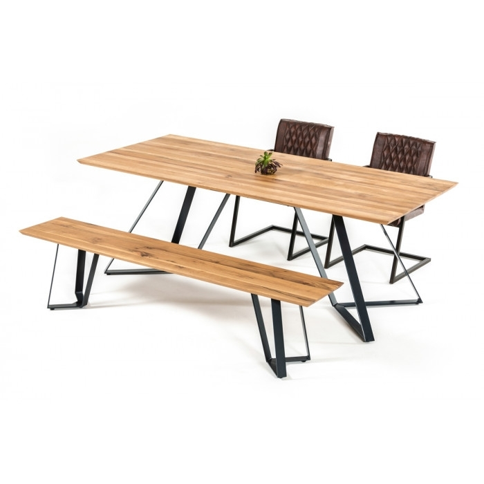 Nova Domus Pisa Modern Drift Oak Dining Table Intended For Pisa Dining Tables (Image 7 of 25)