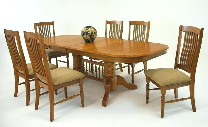 Oak Chairs For Dining Table Endearing Oak Dining Tables Cheap In Second Hand Oak Dining Chairs (Photo 23 of 25)
